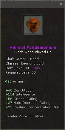 Helm of pandemonium