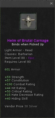 Helm of brutal carnage