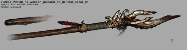 File:002888 Pictish na weapon polearm na general Spear na.jpg