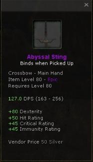 Abyssal Sting