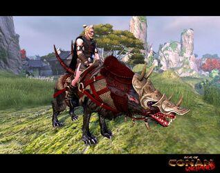 Redfury War Wolf