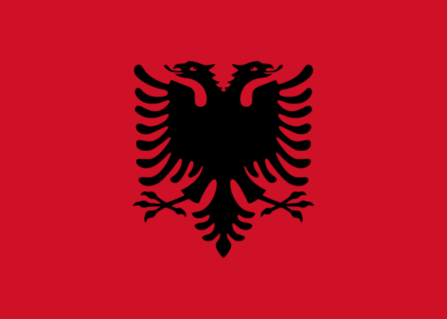 File:Flag of Albania.png