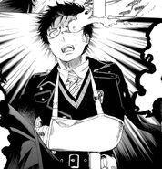 Satan Speaking to Yukio