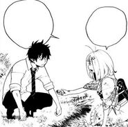 Rin and Shiemi become friends