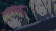 Arthur takes Shura hostage