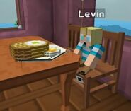 Levin and his food