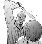 37 Hitotsukabuto attacks Maeda from behind