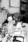 33 Yamanoi studies at home