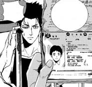 42 Iwakura's passport