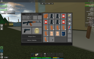 AN-94 in inventory, along with an M9