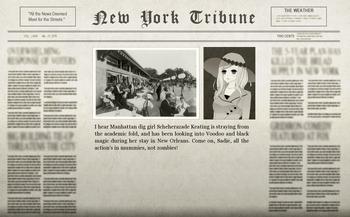 Roland News Orleans Adventure Newspaper