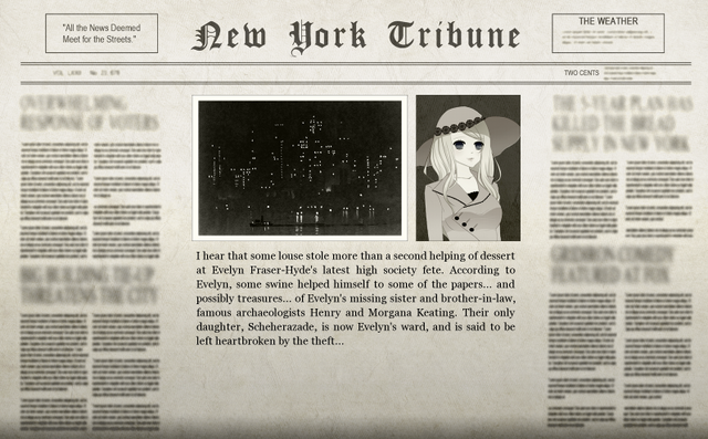 File:Beginning of the Game Main Adventure Newspaper.png