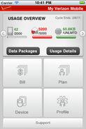 My Verizon Mobile Screenshot