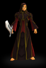 Crimson Mage Set Male