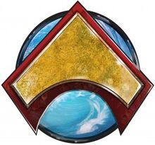 Flashpoint Emperor Aquaman Logo