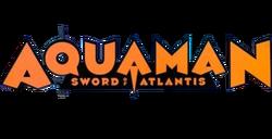 Aquaman Sword of Atlantis logo