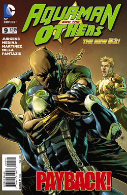 Aquaman and the Others Vol 1-9 Cover-1