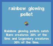 Bait2 Rainbow Glowing Pellet