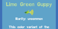 Lime Green Guppy