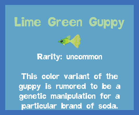 File:Fish2 Lime Green Guppy.png