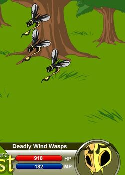 Deadly Wind Wasps