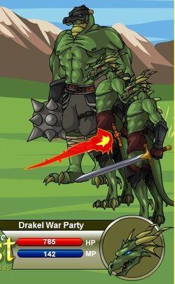 Drakel War Party