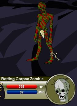 Rotting Corpse Zombie