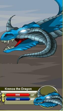 Krenos the Dragon