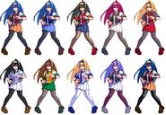 Saki colors