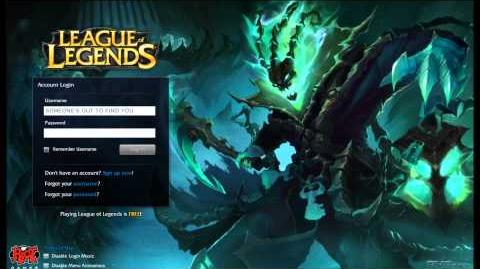League of Legends Thresh Login Screen Music