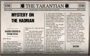 Mystery On The Hadrian
