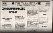 Counilman Babcock Speaks