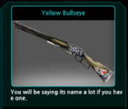 Yellow Bullseye