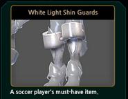 WhiteLightShinGuards