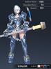 Default Valle 3D In-Game Model Font Colour 3