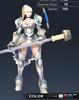 Default Valle 3D In-Game Model Font Clear Colour