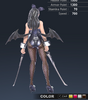 Premium Ridika 3D In-Game Model Back Clear Colour