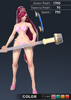 Summer Valle 3D In-Game Model Front Colour 1
