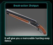 Break-action Shotgun