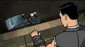 Barry unconcious car