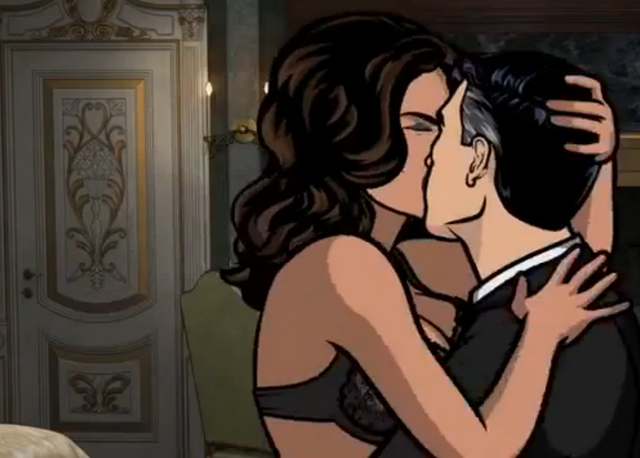 File:Lana and archer kissing.png