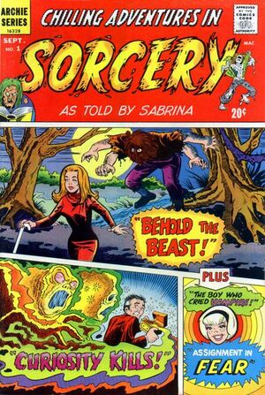 Chilling Adventures In Sorcery As Told By Sabrina Vol 1 1