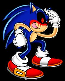 Sonic adventure sonic exe by pokeman25-d85i5xv