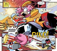 Amy beats Pane