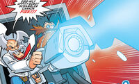 Wily and Eggman fire Cannon