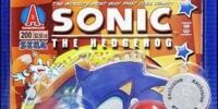 Sonic Comic Book Packs