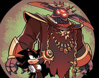 Black Doom with Shadow