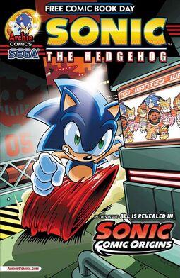 FCBD2014 Sonic