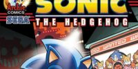 Sonic/Mega Man X Free Comic Book Day 2014