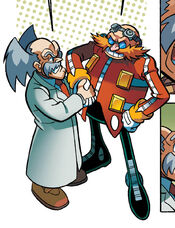 Eggman and Wily meet